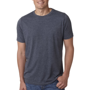 Next Level Men's Poly Cotton Short Sleeve Crew Tee