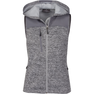 Ladies District Sweater Fleece Vest