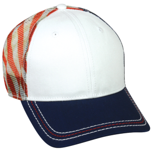 Sublimated USA Flag Mesh Cap