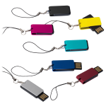SlimFoldable USB Memory Flash Drive 2GB