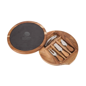 Normandy Swivel Base Cheese & Wine Set