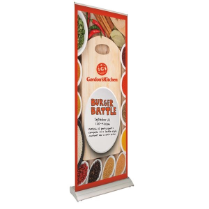 "33.5"" Deluxe Pro Retractor 1-Banner Kit (Dry-Erase Media)"